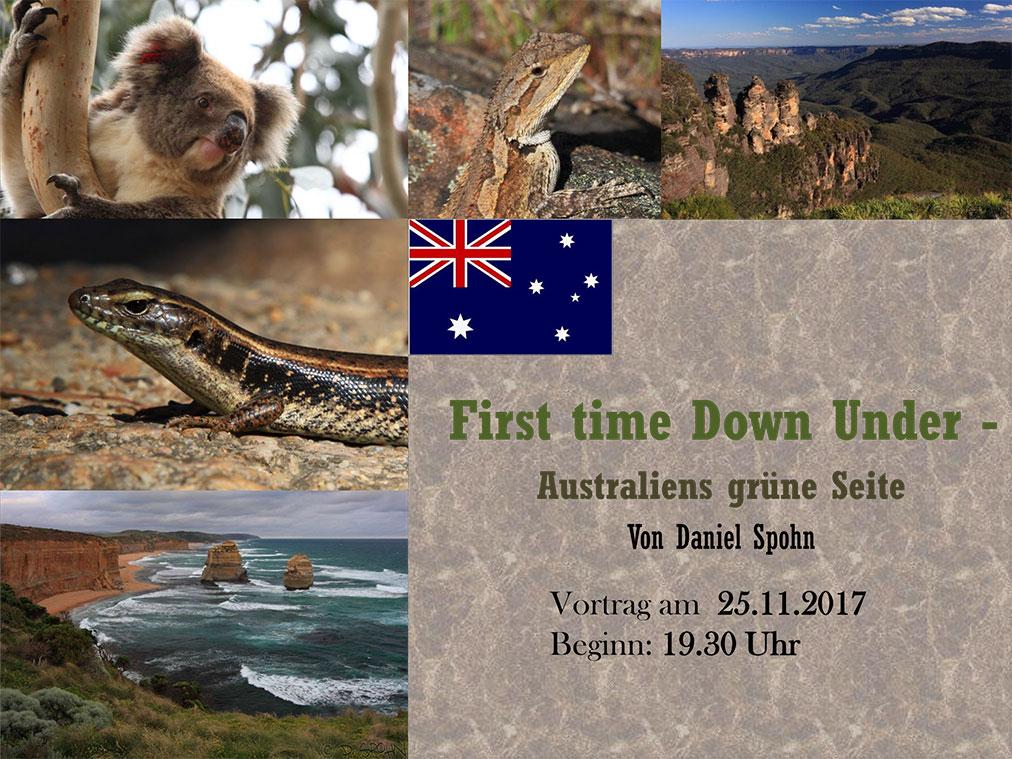 Vortrag - Australiens grüne Seite